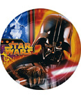 Star Wars Episode III 7 inch Dessert Plates - 8 Count