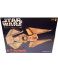 Star Wars Limited Edition TIE Interceptor Gold Tone Model Kit