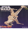Star Wars Limited Edition B-Wing Gold Tone Model Kit