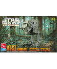 Star Wars AT-ST Snapfast Wind-Up Action Walker Model Kit