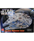 Star Wars Cut-Away Millennium Falcon Model Kit AMT ERTL