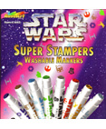 Star Wars 8 Super Stampers Washable Markers