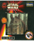 Star Wars Episode 1 Jar Jar Binks Slivers a slice of puzzle fun!