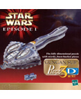 Star Wars Episode 1 Gungan Sub Puzz 3D mini 66 Piece Puzzle