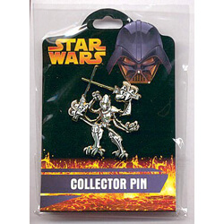 General Grievous Pin from the Revenge of the Sith Collection