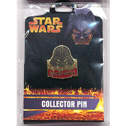 Darth Vader Mask Pin from the Revenge of the Sith Collection