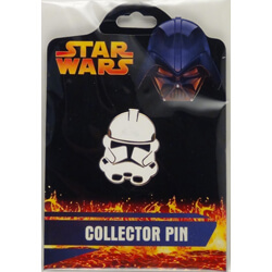 Stormtrooper Mask Pin from the Revenge of the Sith Collection