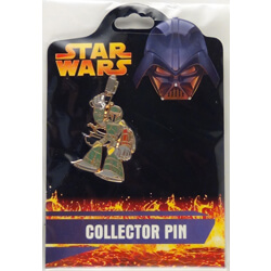 Boba Fett Cartoon Pin from the Revenge of the Sith Collection