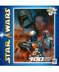 Star Wars Jigsaw Pizzle 100 Pieces Jango & Boba Fett #2 of 4
