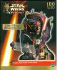 Star Wars Episode 1 Darth Maul Shaped Puzzle 100 Pieces