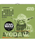 Star Wars Saga - 2017 Spiral Bound Calendar 14 x 10in