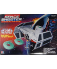 Darth Vader's TIE Fighter Blaster Space Shooter Target Game