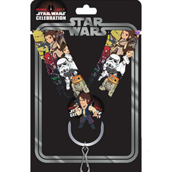 Han Solo Pin & Lanyard Star Wars Celebration Orlando 2017