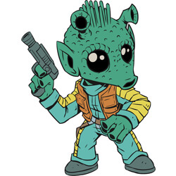 Greedo Pin Star Wars Celebration Orlando 2017