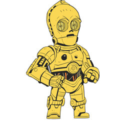 C-3PO Pin Star Wars Celebration Orlando 2017