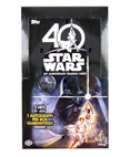 Topps Star Wars 40th Anniversary Trading Card Sealed Hobby Box
