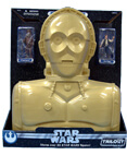C-3PO Carry Case with 2 Action Figures - Trilogy Collection