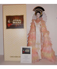 Queen Amidala Porcelain Doll Celebration Gown