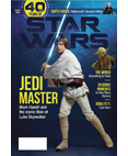 Star Wars 40 Years of Star Wars Magazine - Luke Skywalker Cover