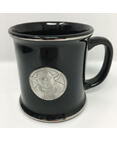 Star Wars Yoda Pewter logo 12oz Mug