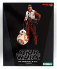 Poe Dameron & BB-8 - 1/10 Scale Model Kit ArtFX+ Statue