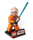 "LEGO Star Wars Luke Skywalker Limited Edition Maquette 6"" tall"