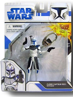 Star Wars Keychain Clone Captain Rex