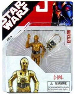 Star Wars Keychain C-3PO (non-mint)