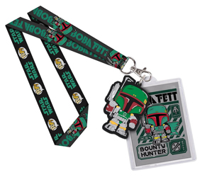 Star Wars Boba Fett Lanyard by Funko Pop!