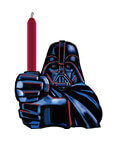 Star Wars Darth Vader Birthday Candle