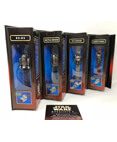 Star Wars Episode 1 Die Cast Watch Collection Set of 4