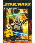 Star Wars Jigsaw Mini Pizzle 50 Pieces General Grievous #1 of 8