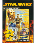 Star Wars Jigsaw Mini Pizzle 50 Pieces C-3PO & R2-D2 #5 of 8