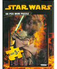 Star Wars Jigsaw Mini Pizzle 50 Piecs Yoda #8 of 8