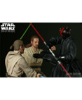 Sideshow Star Wars Duel Of The Fates Polystone Diorama