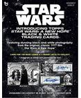 Topps Star Wars Black & White A New Hope Trading Card Box