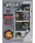 Star Wars - 32 Holofoil Fold & Seal Valentine's Day Cards