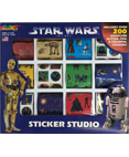 Star Wars Trilogy Sticker Studio Art by RoseArt