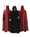 Emperor Palpatine with Royal Guards- 1/10 Scale Model Kit ARTFX+