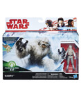 Wampa with Luke Skywalker (Hoth) figure (non-mint)