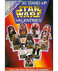 Star Wars Holographic Valentines - 30 Stand-up cards