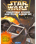 Star Wars Collectible Sticker and Story Album Set