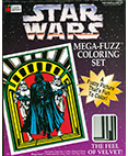Star Wars Mega-Fuzz Coloring Set Darth Vader and Stormtroopers