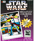 Star Wars Mega-Fuzz Coloring Set AT-AT and Snowspeeder