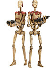 Security Battle Droids 12 inch Action Figure Set (2-pack)