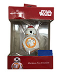 Hallmark: BB-8 with Santa Hat Christmas Tree Ornament 2018