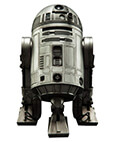 R2-D2 Unpainted Prototype Limited Edition 2016 SDCC Exclusive