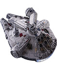 The Last Jedi Ea-035 Millennium Falcon Magnetic Floating Vehicle