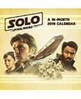Solo: A Star Wars Story 2019 Calendar 12 x 12 inches