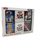 Star Wars Original Trilogy 4 piece mug gift set